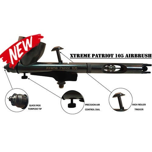 Badger Air Brush Co   BAD Xtreme Patriot 105 Airbrush