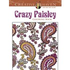 Dover Publishing . DOV CRAZY PAISLEY COLOR BK