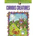 Dover Publishing . DOV CURIOUS CREATURES CLR BK
