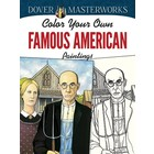 Dover Publishing . DOV Famous American Painting Coloring Book