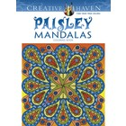 Dover Publishing . DOV PAISLEY MANDALA CR BK