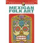 Dover Publishing . DOV MEXICAN FOLK ART COLOR B