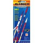 Estes Rockets . EST Mix-N-Match 55 Kit (3)