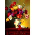Plaid (crafts) . PLD Tulips On Parade Pbn