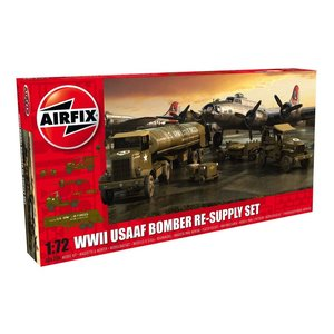 Airfix . ARX 1/72 USAAF BOMBER RE-SUPPLY SET