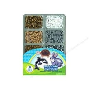 Perler (beads) PRL NEUTRALS/S MINI BEAD TRAY