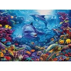 Cobble Hill . CBH Dolphins At Play 1000Pc Puzzle