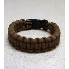 "Sona Enterprises . SON 9"" Paracord Bracelet - Light Brown"