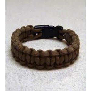 "Sona Enterprises . SON 9"" Paracord Bracelet - Light Brown"