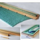 """Authentic Knitting . AKN 28"""" KNITTING BOARD/PEG EXTENDR"""