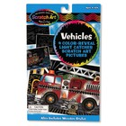 Melissa & Doug . M&D Vehicles Color Reveal - Scratch Art