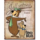 Desperate Enterprises . DPE YOGI BEAR JELLYSTONE TIN SIGN