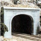 Woodland Scenics . WOO HO TUNNEL PORTAL DOUBLE CONCRE