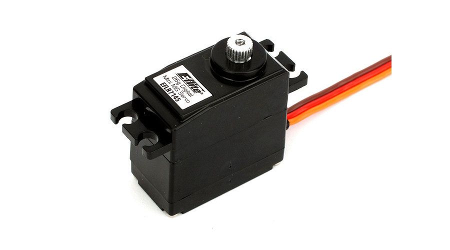 E Flite   EFL 26G DIGITAL MG MINI SERVO