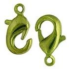 John Bead Corporation . JBC Lobster Clasp - Lime Green 9.5mm