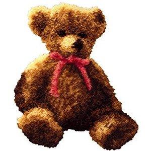 MCG Textiles . MCG LATCH HOOK - BERNADETTE BEAR