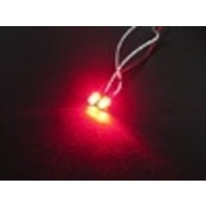 3 Racing . 3RC 3mm Flash Led Lights Red