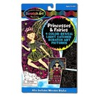 Melissa & Doug . M&D Princesses & Fairies Color Reveal - Scratch Art
