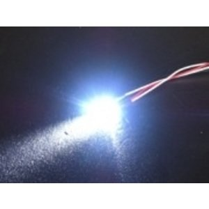 3 Racing . 3RC 5mm Flash Led Lights White