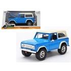 Jada Toys . JAD 1/24 73 Bronco H/T Blue