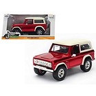 Jada Toys . JAD 1/24 73 BRONCO CANDY RED