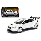 Jada Toys . JAD 1/24 F/F Mr. Little Nobodys Subaru Wht