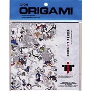 Aitoh . AIT Origami Pencil LIne Draw 20 Sheets