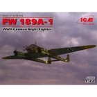 Icm . ICM 1/72 FW189A-1 WWII GER NIGHT FIGHTER
