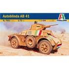 Italeri . ITA 1/72 AUTOBLINDA AB 41 ARMORED CAR