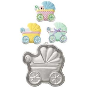 Wilton Products . WIL Baby Buggy Shaped Cake Pan