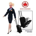 Daron Worldwide Trading . DRN AIR CANADA ATTENDANT DOLL
