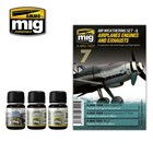 Ammo of MIG . MGA AIRPLANES ENGINES AND EXHAUSTS WEATHERING SET