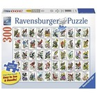 Ravensburger (fx shmidt) . RVB 50 Bird Stamps 300 Large Piece Puzzle