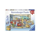 Ravensburger (fx shmidt) . RVB Repair Shop & Gas Station 2 X2 4Pc