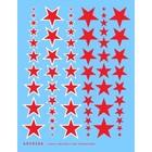 Archer Fine Transfers . AFT 1/35 RED STARS/INSIGNIAS