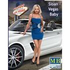 Masterbox Models . MTB 1/24 Modern Pin-Up Girl Sloan