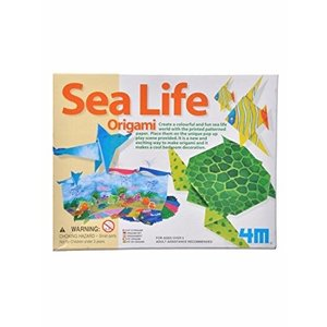4M Project Kits . FMK ORIGAMI SEA LIFE KIT