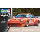 Revell of Germany . RVL 1/24 PORSCHE 934 RSR JAGER