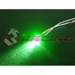3 Racing . 3RC 3mm Normal Led Light Set – Green