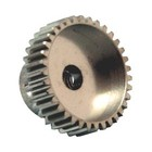 APS Racing . APS ALUMINUM PINION 48 PITCH/ 25 TOOTH