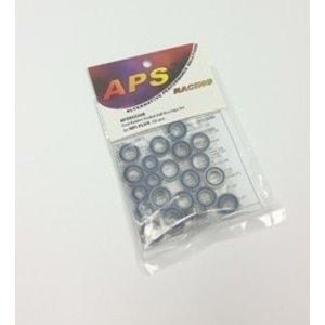 APS Racing . APS DUAL RUB SLD BALL/B HPI FLUX