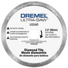 Dremel . DRE ULTRA-SAW DIAMOND TILE CUT WHEEL