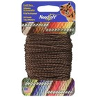 Cottage Mills . COM CRAFT YARN 20YDS BROWN