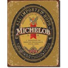 Desperate Enterprises . DPE Michelob All Imported Hops - Rectangular Tin Sign