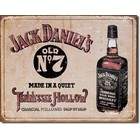 Desperate Enterprises . DPE Jack Daniel's - Tennessee Hollow - Rectangular Tin Sign