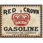 Desperate Enterprises . DPE Red Crown Gasoline Sign