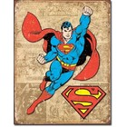 Desperate Enterprises . DPE Superman - Rectangular Tin Sign