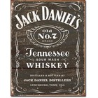 Desperate Enterprises . DPE Jack Daniel's - Weathered Logo - Rectangular Tin Sign