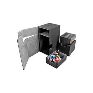 Ultimate Guard . UGD Deck Box :Flip N Tray Black