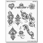 Earth Henna . ETH STENCIL PK AKIYO